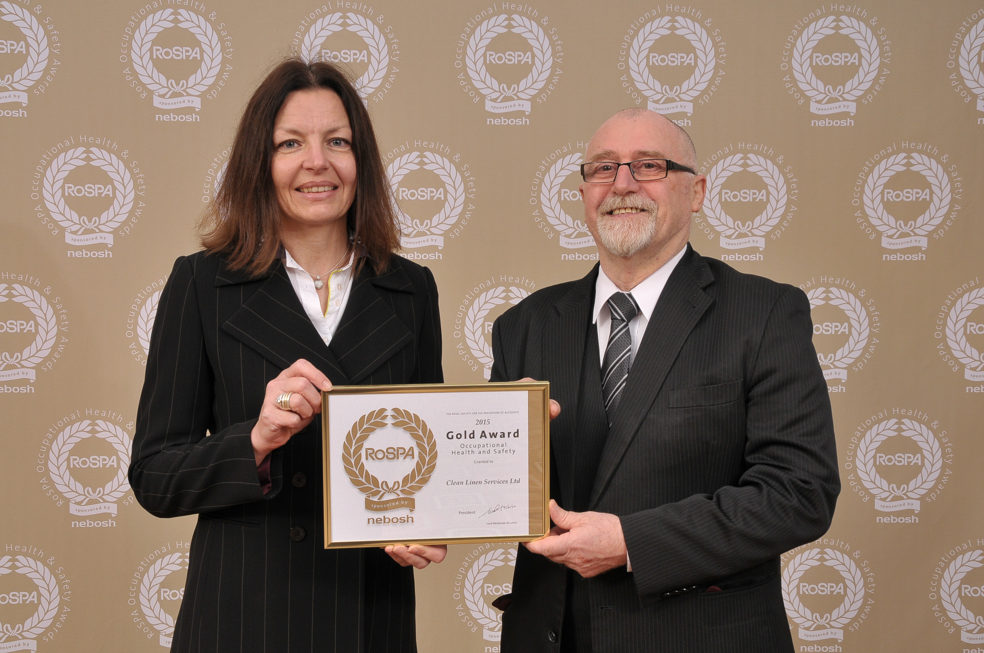 CLEAN are presented with our third consecutive RoSPA award - News - CLEAN Services