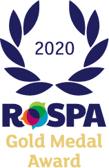 RoSPA Gold Merit Award (achieving Gold Standard for a 5th consecutive year). Recognised internationally, the RoSPA Awards have become one of the most sought after accolades for many organisations from every industry sector.