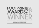Awarded the 'Sustainable Supplier' title at the 2017 Footprint Awards; recognising organisations at every stage in the food supply chain from growers, producers, manufacturers and distributors, through to all hospitality and foodservice operators in both public and private sectors, their suppliers and other stakeholders.