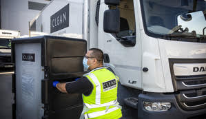 Professional delivery and collection