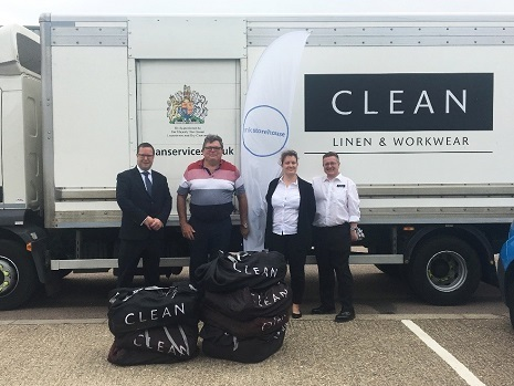 CLEAN's Banbury laundry donates bedding to families in need - News - CLEAN Services