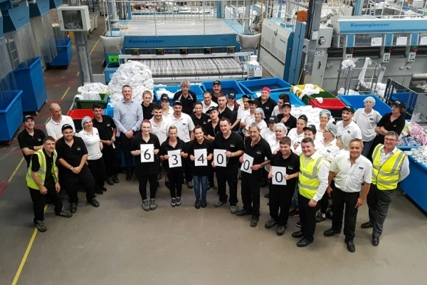 Yeovil laundry site breaks production record - News - CLEAN Services