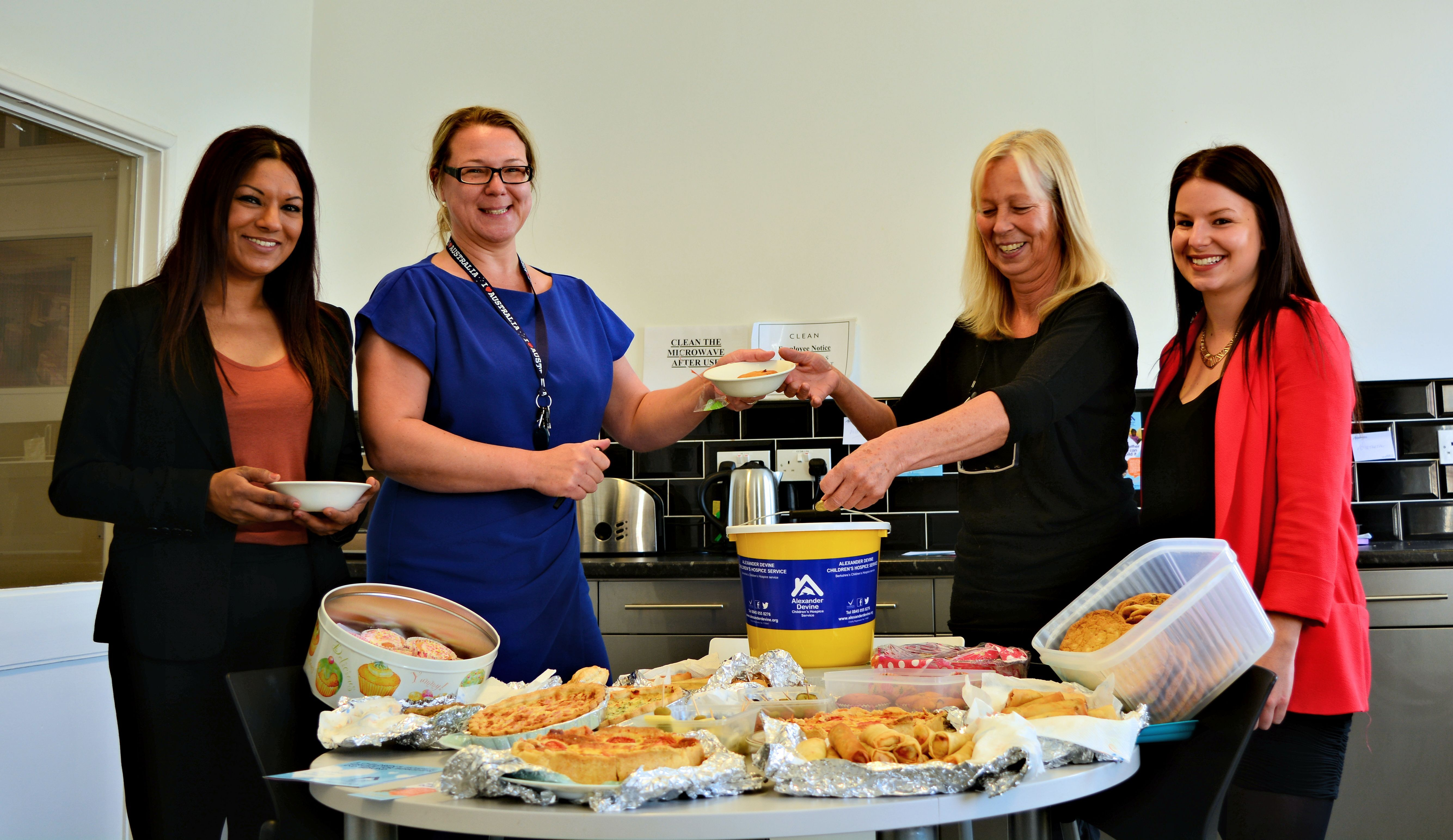 CLEAN cook up a storm in aid of Alexander Devine Children's Hospice - News - CLEAN Services