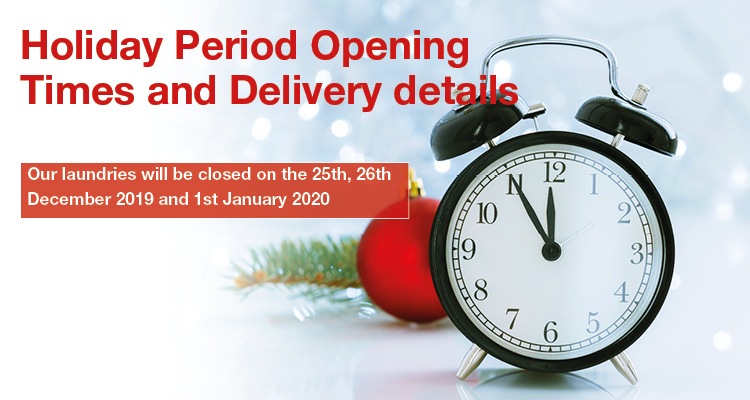 Holiday Period Opening Times and Deliveries - News - CLEAN Services