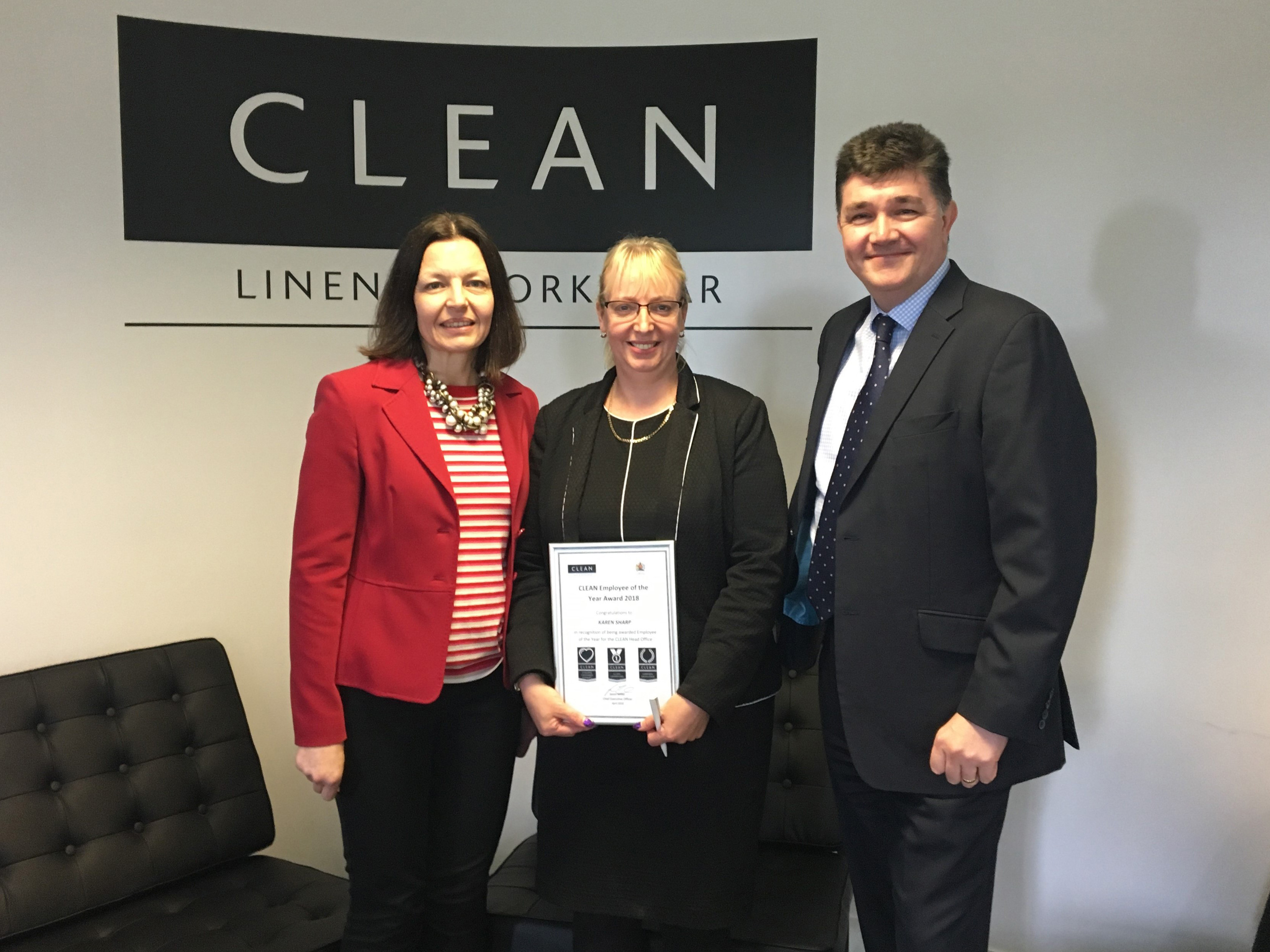 First team members honoured by CLEAN's Employee of the Year Awards - News - CLEAN Services