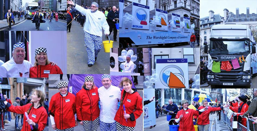 CLEAN appears on the BBC's coverage of the Lord Mayor's Show - News - CLEAN Services