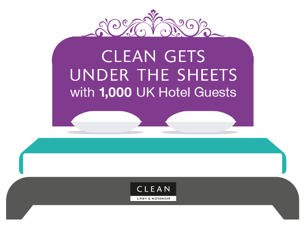 CLEAN gets under the sheets with UK hotel guests - News - CLEAN Services