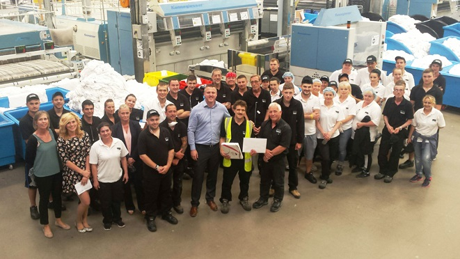 Congratulations and thank you to Martin Hale for 40 years' service - News - CLEAN Services