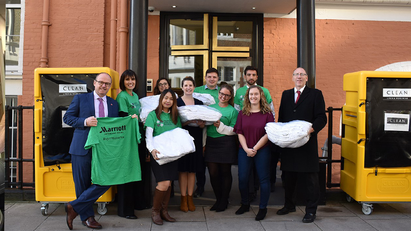 CLEAN Slough laundry donates 500 towels to charity - News - CLEAN Services