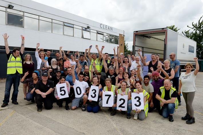 CLEAN's Banbury Laundry Breaks Production Record - News - CLEAN Services