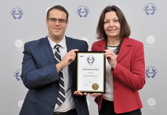 CLEAN picks up prestigious RoSPA Gold Medal Award - News - CLEAN Services
