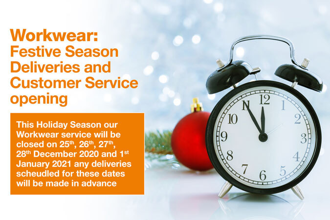 Workwear Service Holiday Period Opening and Deliveries - News - CLEAN Services