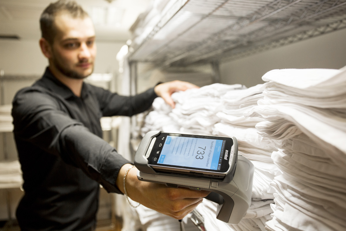 The power of RFID technology - News - CLEAN Services