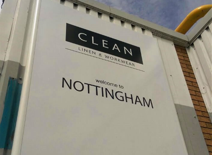 CLEAN Laundry - Nottingham Site