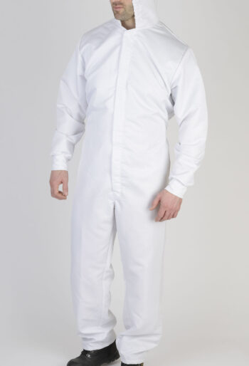 Anti Static/Low Linting Hooded Boilersuit - Workwear Garments - CLEAN Services