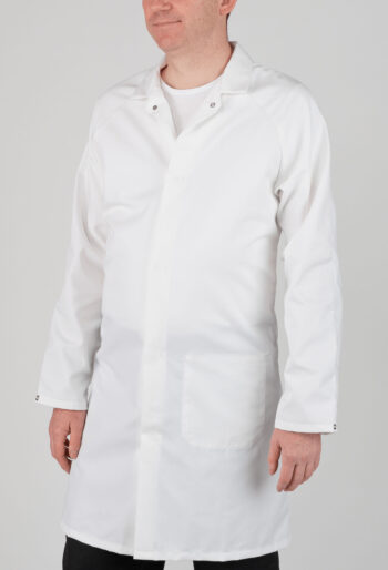 Food Manufacturing Coat - Workwear Garments - CLEAN Services