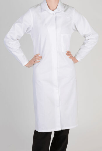Ladies Food Manufacturing Coat - Workwear Garments - CLEAN Services