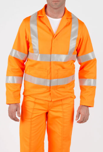 High Visibility RIS Compliant Jacket - Workwear Garments - CLEAN Services