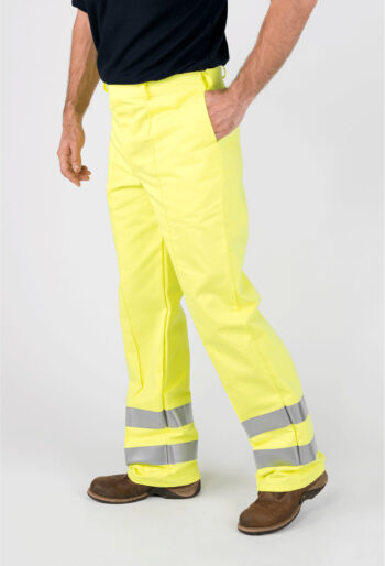 Multi-Function High Visibility Trousers - Workwear Garments - CLEAN Services